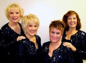Double Dare (l-r): Sandy Wright, Joyce Sipes, Lisa Husar and Bonnie Hermann
